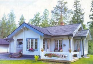 Casa SOFIA, realizzata in legno lamellare